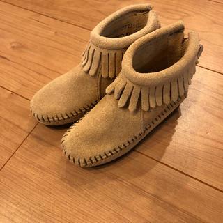 Minnetonka - ミネトンカ キッズ ブーツ 14センチ 未使用