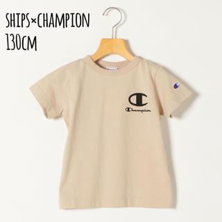 SHIPS - 新品 130cm SHIPS any×Champion ロゴプリント Tシャツ