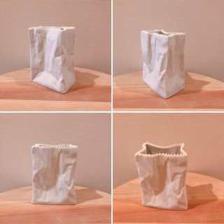 Rosenthal - ローゼンタール 花瓶 紙袋 do not litter 無印 スコープ イデー
