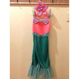 ディズニー(Disney)のディズニーシー購入 アリエル プリンセスドレス 110(ドレス/フォーマル)