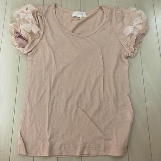 ジルスチュアート(JILLSTUART)のパフスリーブTシャツ(Tシャツ/カットソー(半袖/袖なし))