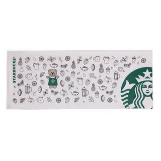スターバックスコーヒー(Starbucks Coffee)の【在庫処分セール】海外限定 スターバックス フェイスタオル(ノベルティグッズ)