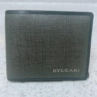 BVLGARI - BVLGARI 二つ折り財布 メンズ