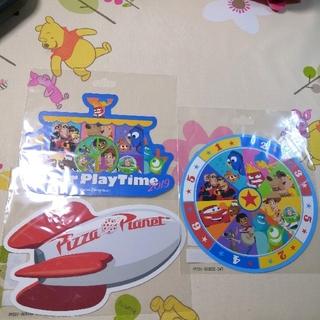 ディズニー(Disney)のピクサー ポストカード(使用済み切手/官製はがき)