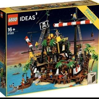 レゴ(Lego)の【流通限定商品】レゴ (LEGO) アイデア 赤ひげ船長の海賊島 21322(模型/プラモデル)