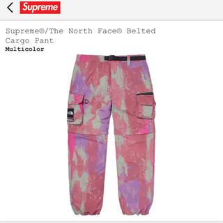 シュプリーム(Supreme)のsupreme tnf belted cargo pant mサイズ(ワークパンツ/カーゴパンツ)