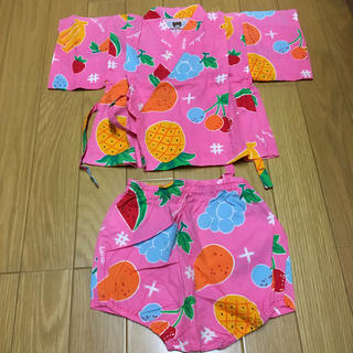 ミキハウス(mikihouse)のミキハウス 甚平 MIKIHOUSE 80 夏祭り(甚平/浴衣)