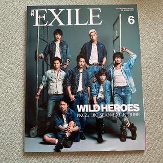 エグザイル トライブ(EXILE TRIBE)の月刊EXILE 2015年 6月号(音楽/芸能)