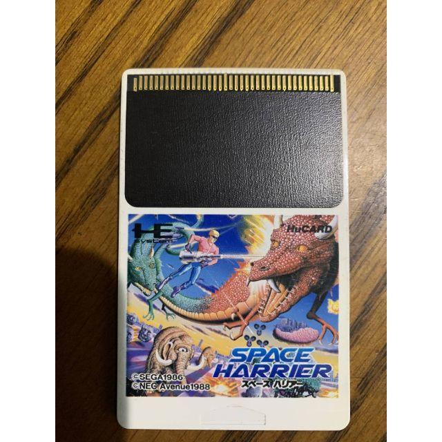 NEC(エヌイーシー)のPCエンジン  ソフト NEC スペースバリアー エンタメ/ホビーのゲームソフト/ゲーム機本体(家庭用ゲームソフト)の商品写真