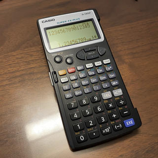 カシオ(CASIO)の関数電卓 CASIO製 fx-5800P 中古品(その他)