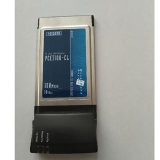 アイオーデータ(IODATA)のPCカード PCET100-CL  I-ODATA(ノートPC)