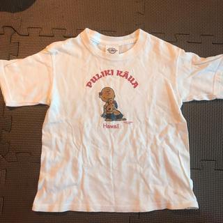 ピーナッツ(PEANUTS)の日焼けスヌーピーTシャツ4 T(Tシャツ/カットソー)