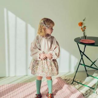 キャラメルベビー&チャイルド(Caramel baby&child )の【試着のみ】花柄スカート🌿(スカート)