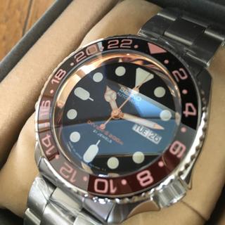セイコー(SEIKO)のセイコーダイバー  SKX009 J ネイビーボーイ MOD カスタム(腕時計(アナログ))