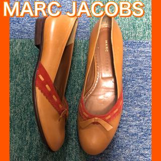 マークジェイコブス(MARC JACOBS)の美品!激安!MARC JACOBSマークジェイコブス フラットシューズ37ハーフ(バレエシューズ)
