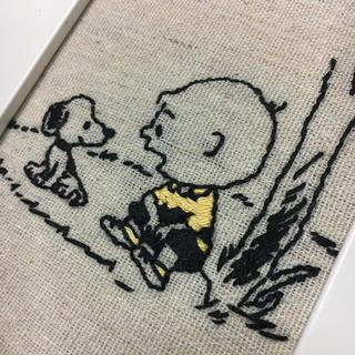 スヌーピー(SNOOPY)のスヌーピー 刺繍 ハンドメイド(アート/写真)
