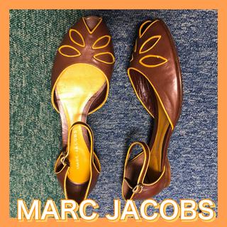 マークジェイコブス(MARC JACOBS)の値下げ!美品!激安MARC JACOBSマークジェイコブス フラットシューズ38(バレエシューズ)