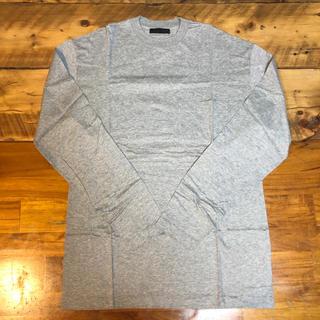 プラダ(PRADA)のprada ロンT グレー Sサイズ(Tシャツ/カットソー(七分/長袖))