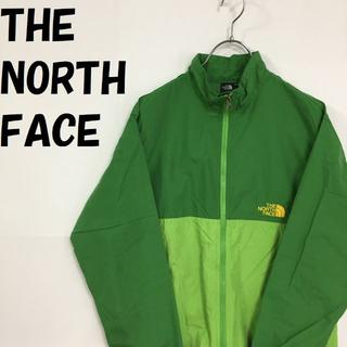 ザノースフェイス(THE NORTH FACE)のザ・ノース・フェイス コンパクトジャケット グリーンxライトグリーン 150(その他)