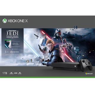エックスボックス(Xbox)のXbox One X Star Wars ジェダイ デラックス エディション(家庭用ゲーム機本体)
