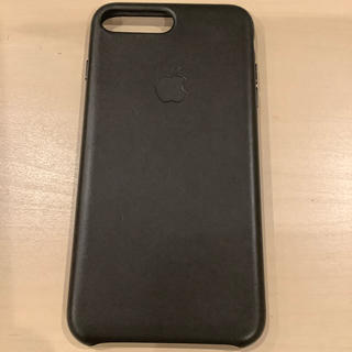Apple - 純正 iPhone 8 Plus (7 Plus) Leather Case