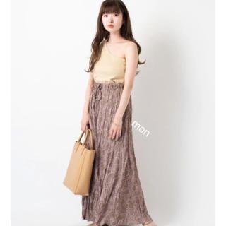 kastane♡バティックフラワープリントスカート♡ピンク(ロングスカート)