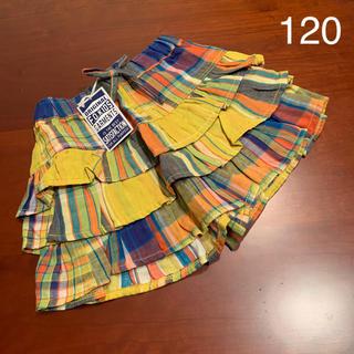 エフオーキッズ(F.O.KIDS)の⭐️未使用品 F.O.KIDS  キュロットスカート  120 サイズ(スカート)