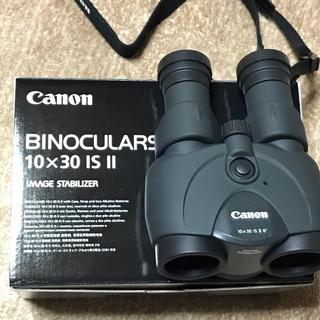 キヤノン(Canon)のCanon BINOCULARS 10×30 IS Ⅱ 防振双眼鏡(その他)