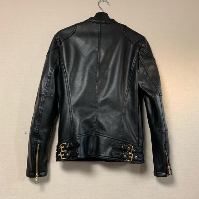 ZARA(ザラ)のZARA レザージャケット メンズのジャケット/アウター(レザージャケット)の商品写真