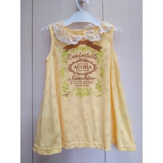 アコバ(Acoba)のACOBA 子供服 女の子 チュニック トップス 120(Tシャツ/カットソー)