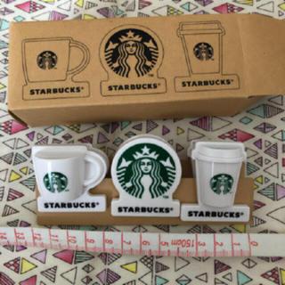 スターバックスコーヒー(Starbucks Coffee)のスタバ クリップセット 未使用(ノベルティグッズ)