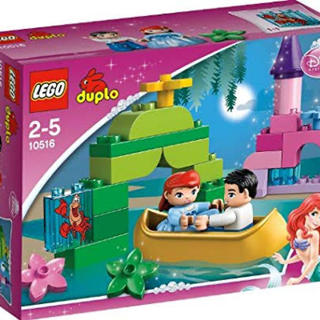 Lego - レゴ デュプロ ディズニープリンセス アリエルの魔法のボート 10516