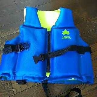 ロゴス(LOGOS)のLOGOS 子供用ライフジャケット  美品(マリン/スイミング)