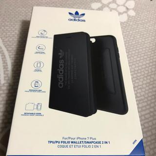アディダス(adidas)のアディダス adidas iPhone 6 6s 7 8 Plus 手帳型(iPhoneケース)