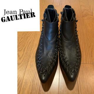Jean-Paul GAULTIER - JEAN PAUL GAULTIER / レースアップアンクルブーツ