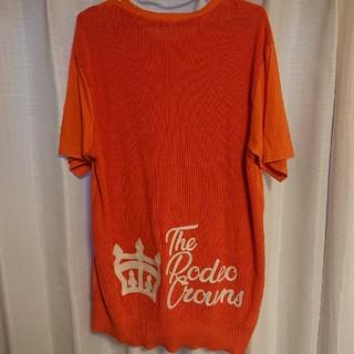 ロデオクラウンズ(RODEO CROWNS)のRODEOCROWNS 刺繍ロゴ Mサイズ(Tシャツ/カットソー(半袖/袖なし))