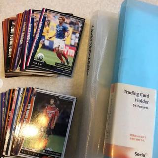 トレーディングカード 全76枚 フォルダー付き(スポーツ選手)