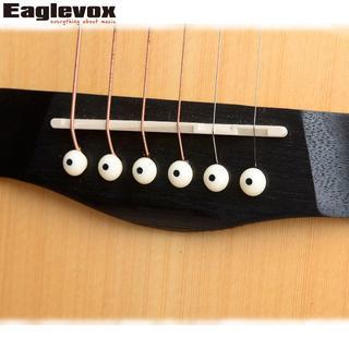ブリッジ ピン アコースティック ギター アコギ 円錐 R128(パーツ)