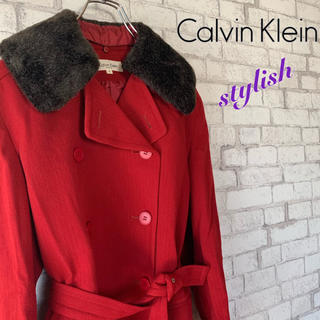 Calvin Klein - 【cute♪】Calvin Klein カルバンクライン/チェスターコート