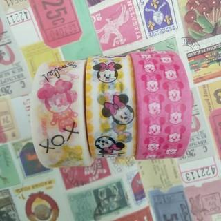 ディズニー(Disney)のミニーちゃん マスキングテープ(テープ/マスキングテープ)