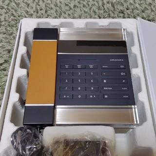 アマダナ(amadana)の【ジャンク】amadana(アマダナ)電話機 DT-120(電話台/ファックス台)