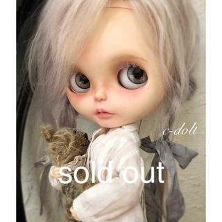 カスタムブライス【✴︎c-doll ✴︎】植毛モヘア  バブリーベアー🧸
