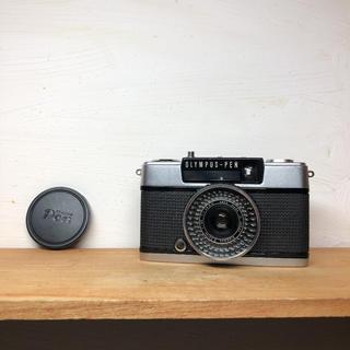 オリンパス(OLYMPUS)のOLYMPAS PEN EE-3【整備品、完動品】フィルター、キャップ付(フィルムカメラ)