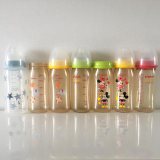 ピジョン(Pigeon)のPigeon♡哺乳瓶 7本セット バラ売り可 プラスチック(哺乳ビン)