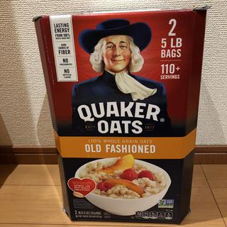 コストコ - 新品 未開封 クエーカー オートミール 4.52kg オーツ麦 えん麦 コストコ