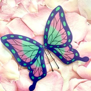 鬼滅の刃 胡蝶しのぶ風 蝶の髪飾り