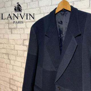 ランバン(LANVIN)の【レア】LANVIN ランバン/クレイジーパターン テーラードジャケット 人気(テーラードジャケット)