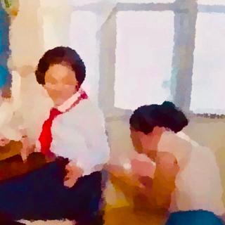 【ぽむぽむ様 専用】作品名:二枚だけの思い出(絵画/タペストリー)