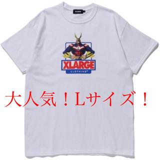 エクストララージ(XLARGE)の即完売モデル!早い者勝ち!エクストララージ ヒロアカ オールマイト ホワイト(Tシャツ/カットソー(半袖/袖なし))