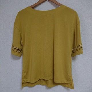 シマムラ(しまむら)のしまむら 袖レース Tシャツ(Tシャツ(半袖/袖なし))
